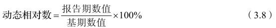 统计学相对指标:动态相对数