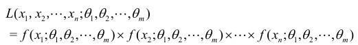 统计学参数点估计求法:极大似然估计法