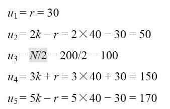 随机起点对称等距抽样法:具体方法、计算例题