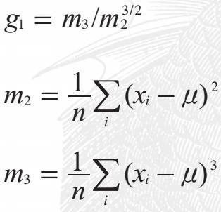 什么是样本偏度:样本偏度的计算公式
