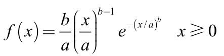 MATLAB如何使用wblpdf函数计算韦伯分布的概率密度