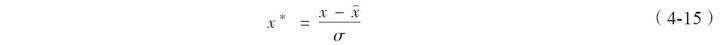 小数定标规范化:什么意思、转化公式