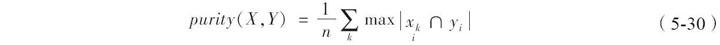 聚类分析算法评价:purity评价法