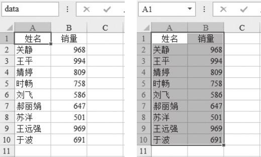 如何使用Excel中的COUNTA+OFFSET函数:创建动态区域名称